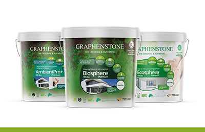 Ecological paints, coating and solutions with graphene