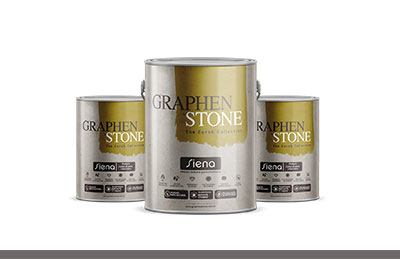 High standard decoration paints and mortars
